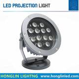 Lumière d'inondation de la lumière de projection d'IP65 12W DEL/DEL