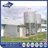 軽いHセクション鉄骨フレームのプレハブの家禽はフルセットの養鶏場装置によって収容する