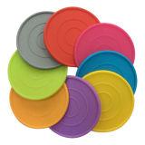 Caboteurs multicolores antidérapants de cuvette en caoutchouc de silicones de vaisselle de cuisine