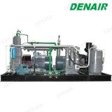 パイプラインのテストのための産業高圧ピストン空気圧縮機