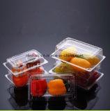 Erstklassige thermische Vakuumrunde quadratische Nahrungsmittelplastikbehälter verkauft Frucht-Verpackungs-Kasten im Einzelhandel