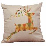 Nueva funda de almohada nórdica de la pintura de la decoración de los ciervos