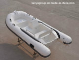 Liya 3.3mの膨脹可能なディンギーのHypalonの外皮の半硬式の膨脹可能なボート