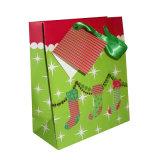 크리스마스 (YH-PGB035)를 위한 Kraft 종이 선물 부대