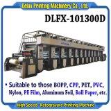 Высокая скорость печати Gravure компьютеризированный Web-машины для пленки, пластмассы, бумаги, нейлон, алюминиевая фольга (DLFX-101300D)