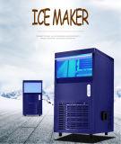 commerciële blauwe de makermachine van het straalijs