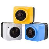 Des Würfel-360 Minischuss-Sport-Kamera sport-Vorgangs-der Kamera-720p 360-Degree große panoramische mit WiFi Support bis zur 32GB codierten Karte