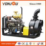 La pompe à eau Diesel sur remorque