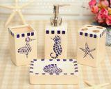 Dispensador de jabón, pasta dentífrica, conjuntos de baño mosaicos de cerámica, el nuevo modelo
