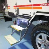 Электрический Aluminumfolding шаг для неисправного автомобиля с сертификат CE и нагрузка на 250 кг