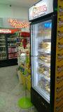 Slim vertical refrigerador comercial Enfriador de bebidas de refresco, cerveza