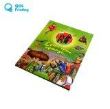 Libro della scheda dei bambini del Hardcover di stampa e servizio di stampa