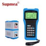 Жидкость с фиксированной питание от батареи портативного измерителя расхода жидкости ультразвукового датчика массового расхода воздуха