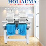 Holiaumaの真新しい熱い2つのヘッドを販売して15本の針帽子か衣服または靴自由な刺繍デザインの刺繍機械幸せなタイプをコンピュータ化した