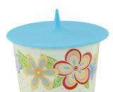Универсальный силиконового каучука крышку чашки для стеклянная бутылка воды