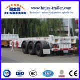 Eixo 2/3Jsxt personalizados do sistema de travagem antibloqueio ABS Esqueleto Container Truck semi reboque