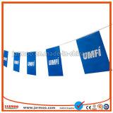 Decoratieve Bunting van de Vlag van het Koord van de Polyester Vlag voor Vertoning