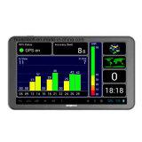 IPS 5.0inch toque em Navegador GPS de carro de núcleo quádruplo incorporado Tablet PC, sistema de navegação GPS veicular Android, FHD1080p carro DVR, AV-na câmara de Estacionamento Traseiro; 5.0Mega Câmara Dash