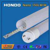 1200M 18W 2800K-6500K de 270 grados de ángulo de haz de luz del tubo LED T8 con 3 años Waranty