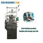Rb-automatische Ebene und Terry-Socken-Strickmaschine für Verkauf