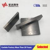 Piastrina del carburo di tungsteno di alta qualità Yg8 92%Wc per il taglio