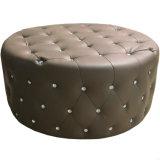 Kristalltasten-Entwurfs-runde Osmane für Schlafzimmer-Möbel (C38-E)