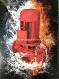 La bomba contra incendios en línea vertical de la lucha contra la bomba de cebado de bomba de agua hidrante