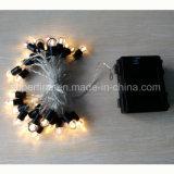 Романтический работать от батареи водонепроницаемый Рождество со вкусом провод String фонари