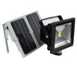 Control remoto IP65 Lámpara LED de Energía Solar jardín al aire libre de encuadernación de la seguridad de proyectores de luz LED spot