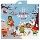 Custom Новинка 12 дней праздника Рождества носки появлением календарь