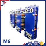 M6m'échangeur de chaleur de la plaque de grade alimentaire pasteurisateur