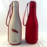 Caso di trasporto del sacchetto del regalo della bottiglia di vino di EVA con la casella di EVA della tazza di vetro di vino della maniglia