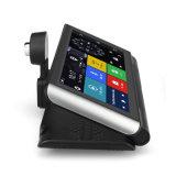 GPS van de Videorecorder van de Camera van de Auto WiFi van 6.86 Duim 4G de Levende Stromende Dubbele Androïde Nok van het Streepje van de Spiegel DVR van de Navigatie Rearview