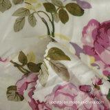 Полиэстер спандекс цветочным рисунком печать Crystal Атласная ткань для пижама