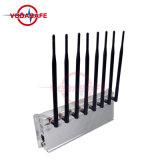 GSM/3G2100MHz/4glte/Wi-Fi/Bluetooth, stampo dell'emittente di disturbo della stanza per l'emittente di disturbo del segnale dell'emittente di disturbo del telefono mobile del cellulare