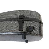 Sinomusikの卸売価格の黒カーボンファイバーのバイオリンの堅い箱