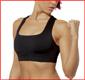Soutien-gorge de sport Underwear-Seamless transparente