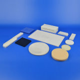 多孔性の反研摩の陶磁器フィルターAl2O3アルミナの陶磁器の平らな版