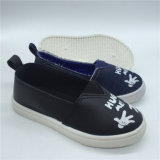 Comercio al por mayor de última moda chicos lindo Slip on Canvas zapatillas zapatos