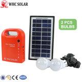 2 светодиодные системы освещения солнечной энергии постоянного тока с зарядки для мобильных ПК -- в Африке с возможностью горячей замены