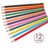 12のカラー良質木カラー鉛筆