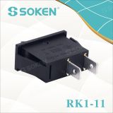 Soken RoHS UL 단 하나 폴란드 로커 스위치 T85/Defond 스위치