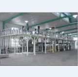 Proceso químico continuo reactor de tanque agitado