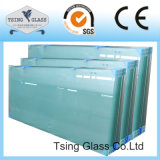 verre trempé d'espace libre de 3mm-19mm avec du ce AS/NZS 2208 pour la porte/balustrade/la clôture de douche/balustrade