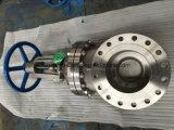 API600 Class300 CF8m Vanne en acier moulé en acier inoxydable de 10 po (Z41W-10-300LB)