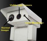 Три датчика тепловой обработки изображений и день и лазерный осветитель камера ночного видения