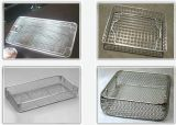 La cesta del almacenaje/la cesta de malla fina/desinfecta la cesta del metal