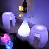 Silla Silla de encendido LED LED Cubo de estar al aire libre muebles del patio
