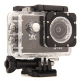 câmera subaquática de Kamery Sportowe HD WiFi 30m da câmera do esporte de 4k 30fps