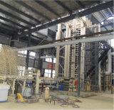 Tarjeta media de la densidad de la máquina de la carpintería que hace la máquina